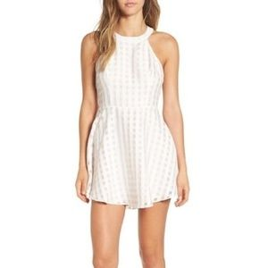 Lovers + Friends Gingham Cocktail Dress